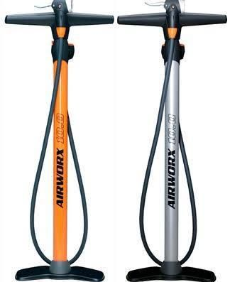 SKS Airworx 10.0 Multi Valve Track Pump - Orange - AdertoCycles.ie