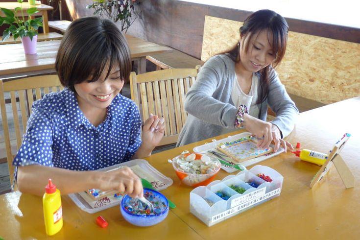 【沖縄おすすめ情報】 森のガラス館/名護市 子どもも一緒に楽しめるオリジナルフォトフレーム体験