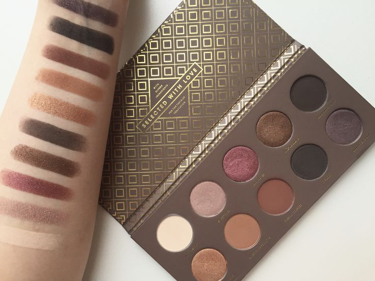 Zoeva Cocoa Blend Swatches on RainingBeauty.ca!