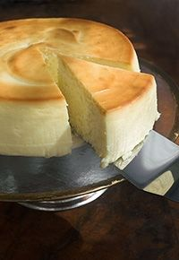 Tarta de queso y yogurt. Mascarpone and Yogurt Pie.