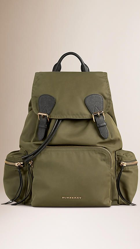 Burberry Backpack Green