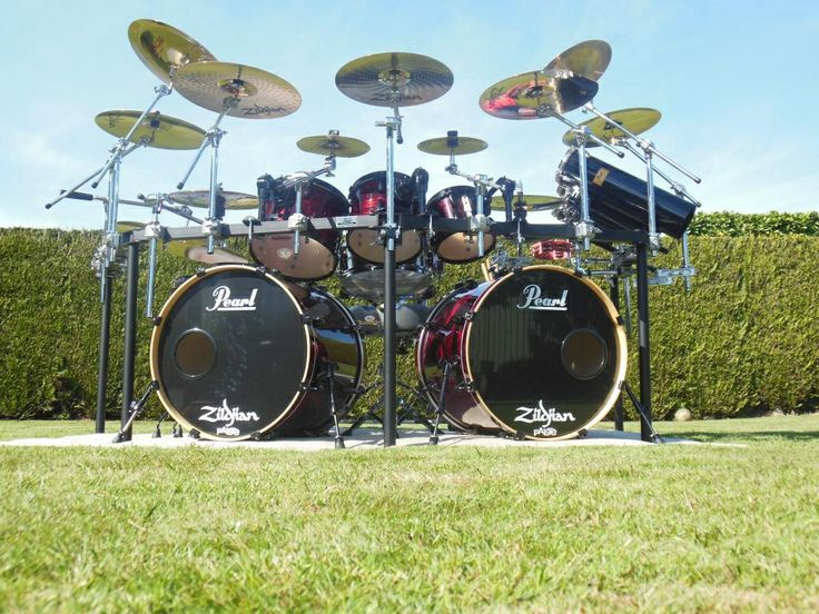 Cool Looking Drum Sets