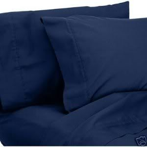 1000 Thread Count QUEEN 4PC Bed Sheet Set Egyptian Quality Deep Pocket, BLUE: Home & Kitchen