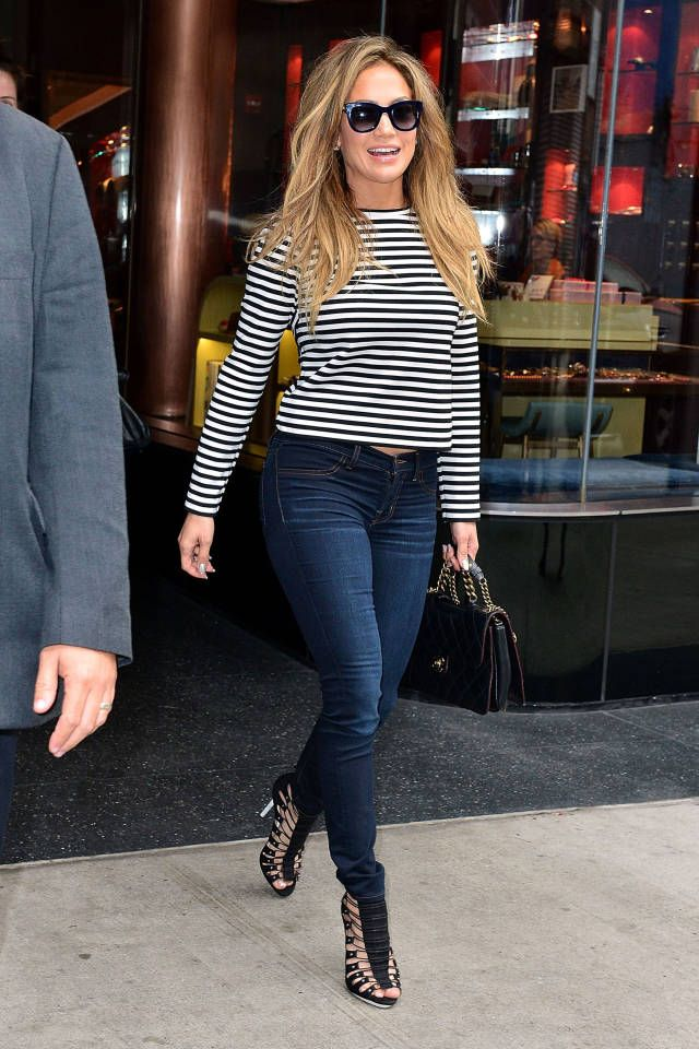 Get inspired by celebrity blue jean looks, plus see more celebrity style here.