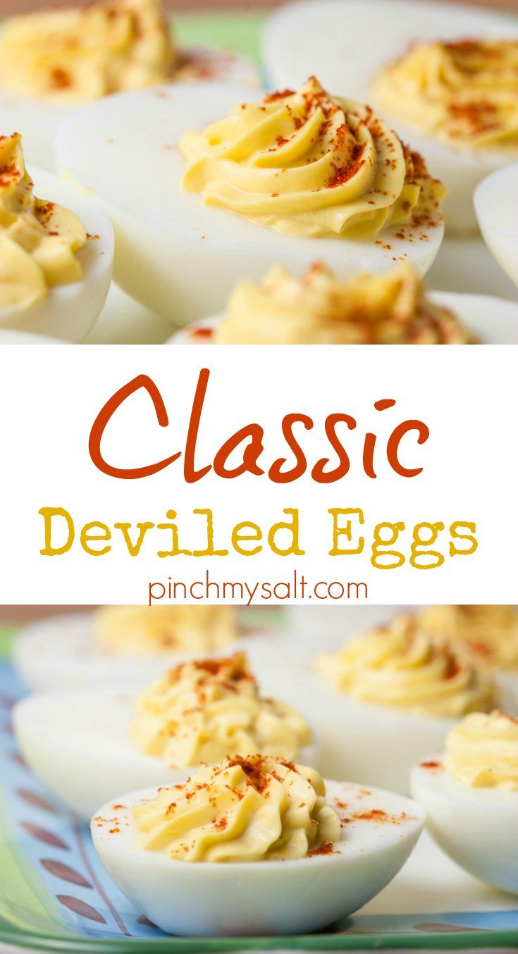 Nicole's Best Basic Deviled Eggs | Recept