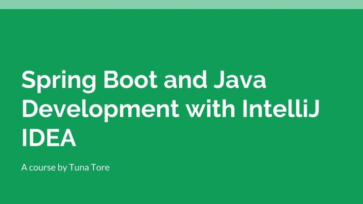 Java and Spring Boot Development with IntelliJ IDEA – 100% Free Udemy Coupon Code                                           Spring Boot and Java with IntelliJ IDEA tips and tricks and rapid Java and Spring Framework...