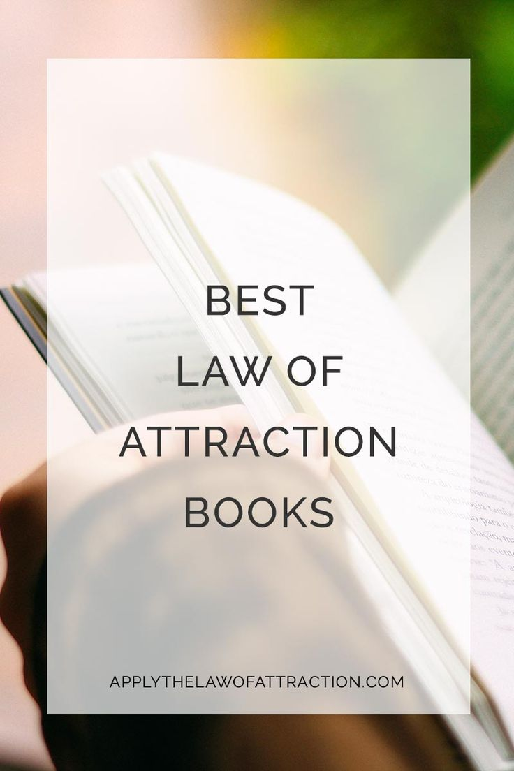 The best law of attraction books to learn loa, manifest love, attract money, lose weight and more