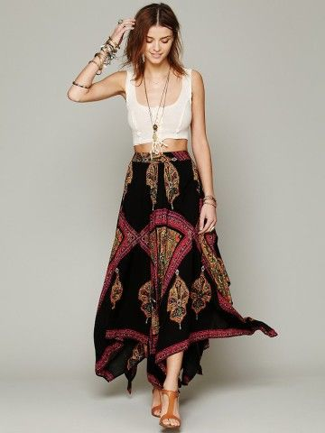 Free People Heart of Gold Skirt