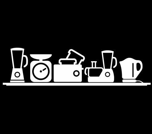 Наклейки стены Кухни Декор Украшение Дома Стены Искусства Семья Наклейки На Стены Виниловые Съемные Наклейки Столовая Стикер Обои