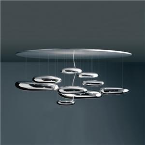 Artemide - mercury ceiling and suspension lamp by ross lovegrove for artemide