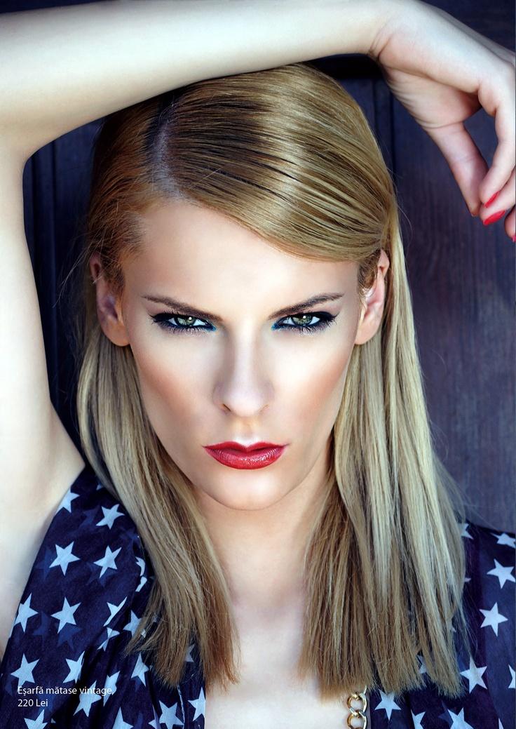 Florentina Stoian by Stefan Dani for Rumours Magazine June 2012