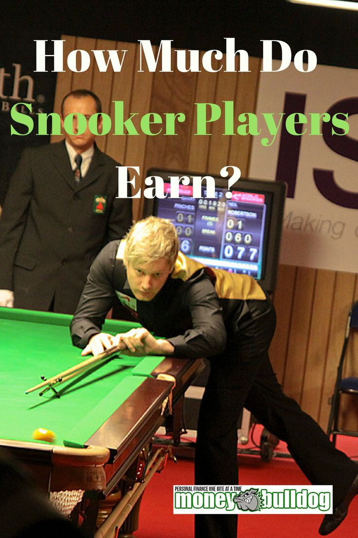 Would you like to be a Pro Snooker Player? - Find out how much top snooker players and also newbies can earn. We look at the career earnings of some of the top players from the recent past such as Steven Hendry and Steve Davis, and also the fortunes that are being made by current players such as Ronnie O'Sullivan, John Higgins, Steve Davis and Judd Trump!