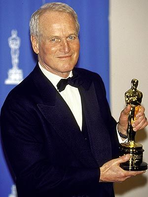Paul Newman: After seven nominations and no Oscars, Newman took home an honorary Academy Award in 1986. A year later, he finally won Best Actor for The Color of Money – but wasn't present at the ceremony to accept the statuette himself.