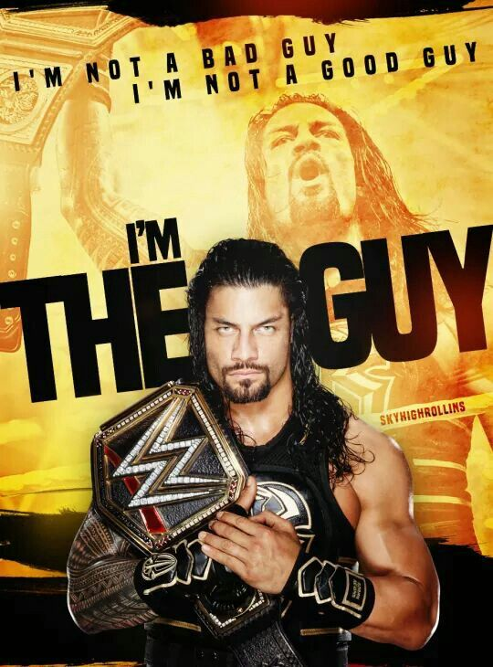 Roman reigns is my favorite WWE hero and will always be my favorite