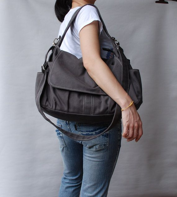 73dd8a91edf 13th Birthday Sale 25% - Messenger Bag   Pico Grey, Diaper Bag, School Bag, Shoulder  Bag, crossbody bag, Gift for Her, Women Bag. Tote Diaper BagsGrey ...