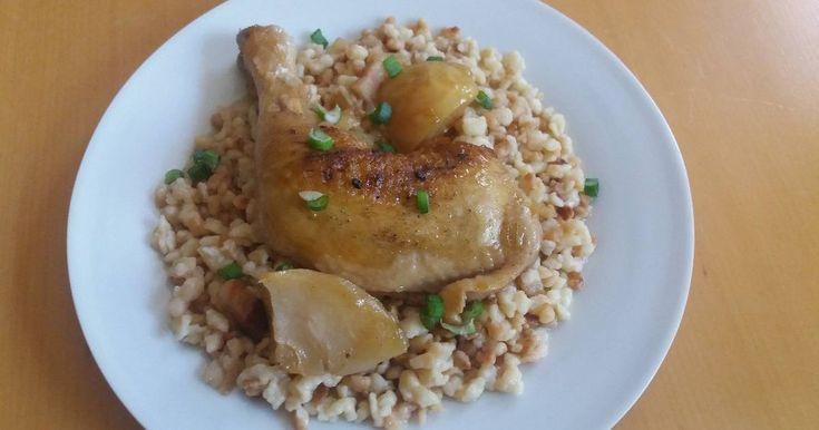 Mennyei Serpenyős csirke recept! Gyors, egyszerű és kiadós egytálétel.