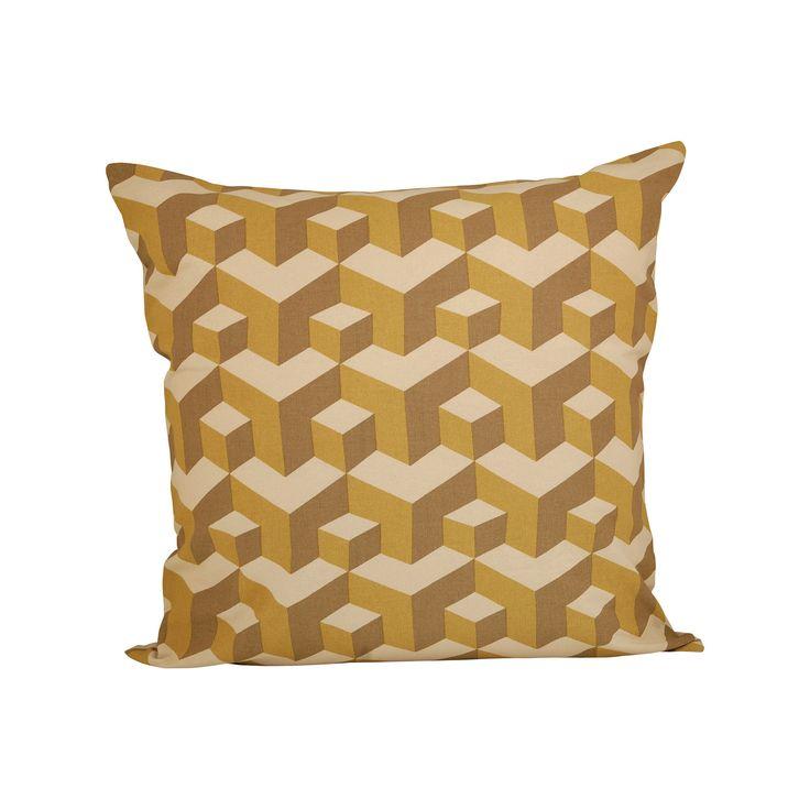 Pomeroy POM-901683 Escher Collection Honey Gold,Sand Finish Pillow