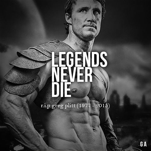 Legends Never Die.......changed my life, true inspiration