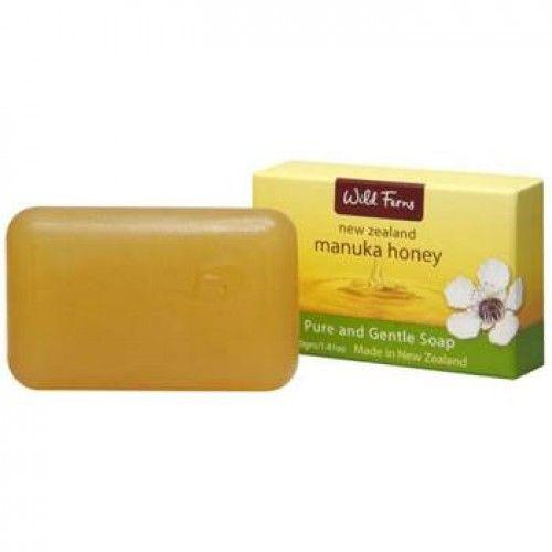 Wild Ferns Manuka Honey Pure & Gentle Soap 40g