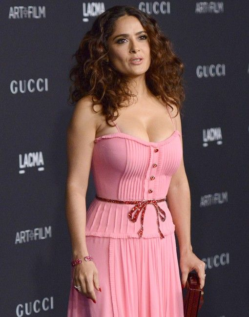 Salma Hayek 0- this belt is amazing
