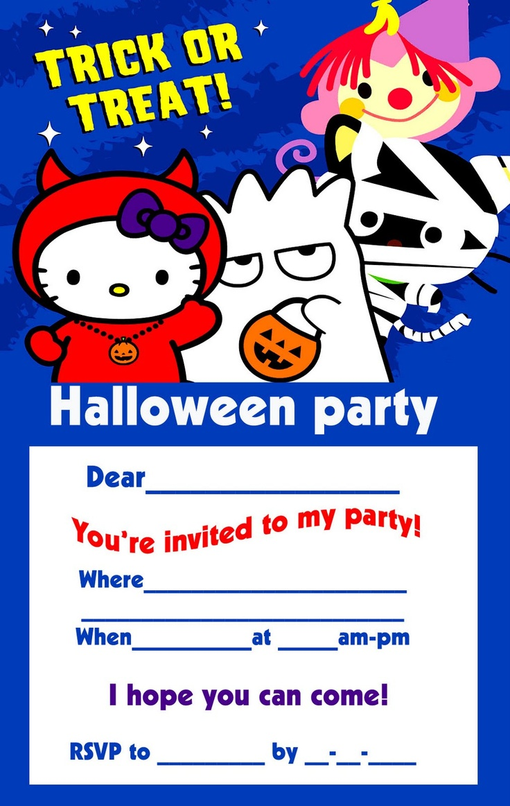 46 best hello kitty halloween party images on pinterest hello
