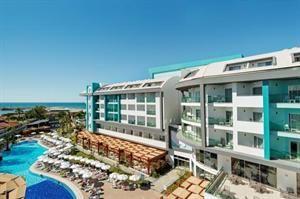 Turkije Turkse Riviera Evrenseki  Genieten genieten genieten. Je raadt het vast al: in Seashell Resort & Spa staat alles in het teken van genieten. Al dobberend op een luchtbedje in het zwembad met een drankje in de hand of in...  EUR 606.00  Meer informatie  #vakantie http://vakantienaar.eu - http://facebook.com/vakantienaar.eu - https://start.me/p/VRobeo/vakantie-pagina