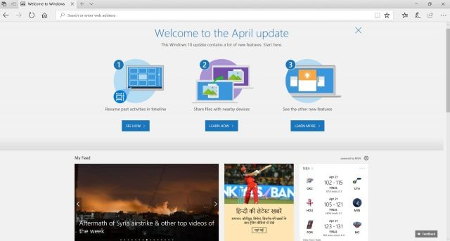 Windows 10 April Update Is Probably The New Name For Spring