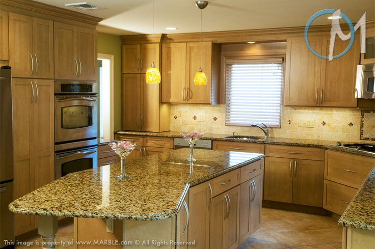 Paint Colors With Giallo Veneziano Granite Countertops And