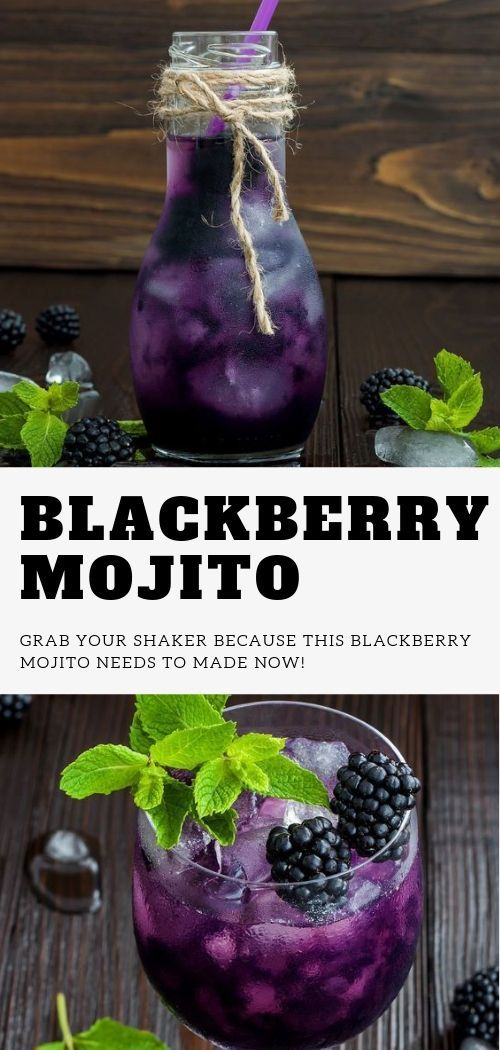 Blackberry Mojito, Fun drinks, White sangria recipes, Party drinks, Mixed drinks…