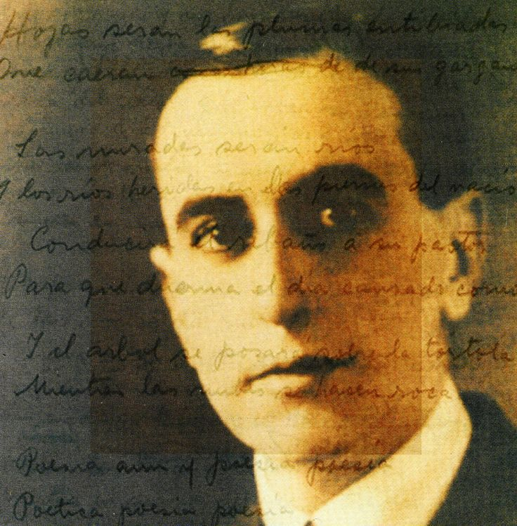"Vicente García-Huidobro Fernández (January 10, 1893 – January 2, 1948) was a Chilean poet born to an aristocratic family. He was an exponent of the artistic movement called Creacionismo (""Creationism""), which held that a poet should bring life to the things he or she writes about, rather than just describe them."
