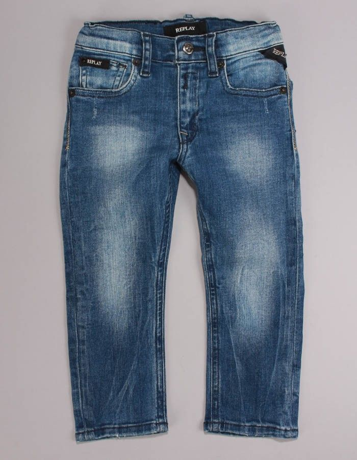 Replay Hyperfree Jeans Stonewash   Accent Clothing