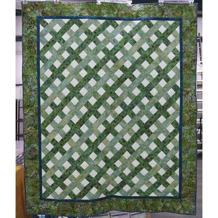 Hancocks of Paducah Hoffman Bali Batik Kentucky Bluegrass Quilt Kit | Precuts