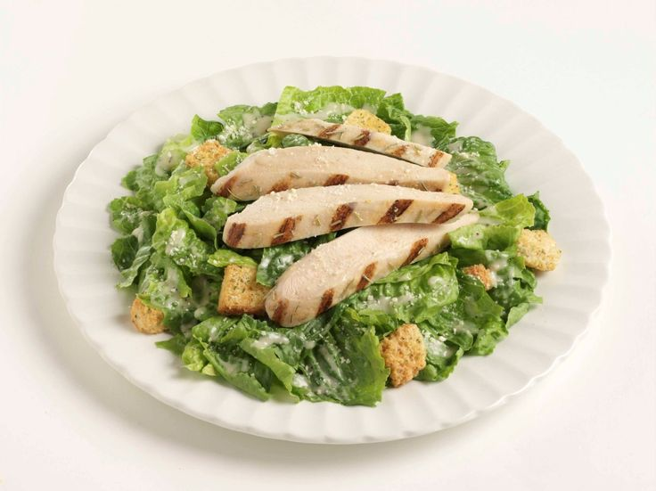 Simple Chicken Caesar Salad