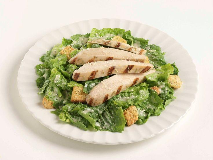 Simple Chicken Caesar Salad