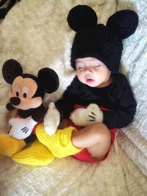 Baby Mickey Mouse Costume | CostumeModels.com