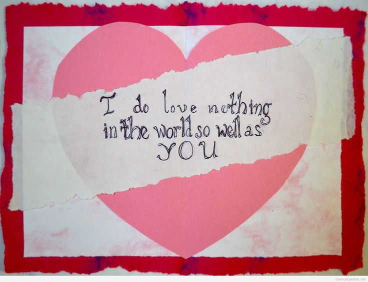 I do love in this world - valentine\'s day quotes - http ...