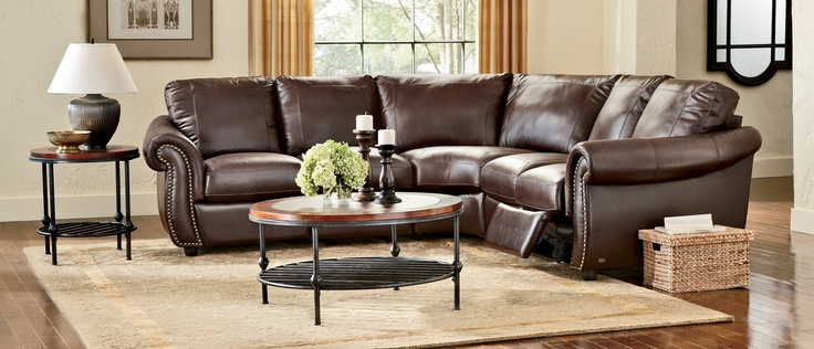 Softaly Colorado Reclining Multi-Piece #Leather Sectional : reclining leather sectional - islam-shia.org