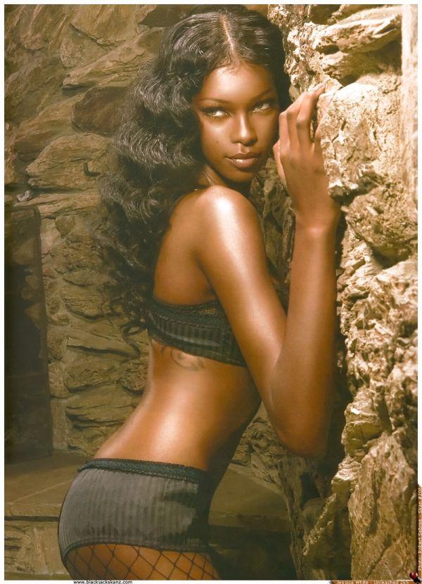 Crystal Black Babes Sexy Black Beauty Jessica White