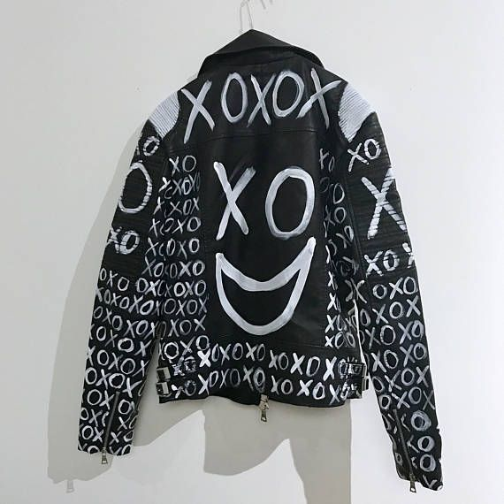 xo clothing xo jacket xo merch vegan leather jacket faux