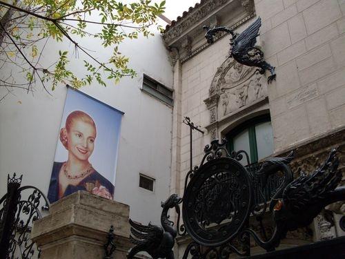 """Museo """"Evita"""" - vista Parcial de la Entrada.     Dirección: Lafinur 2988, Buenos Aires, Capital Federal  Teléfono:011 4807-0306"""