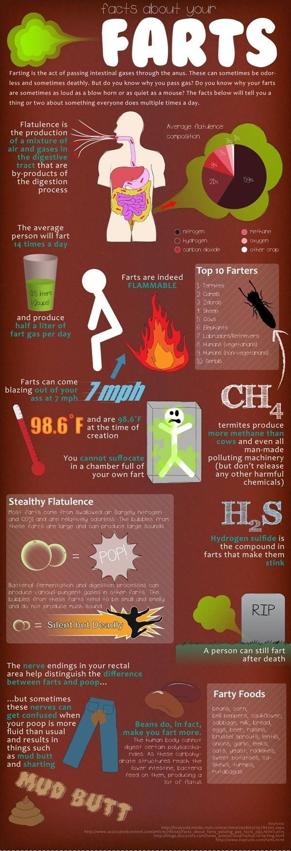 Facts about farts. @Matthew Perry @Brooke Carlyle