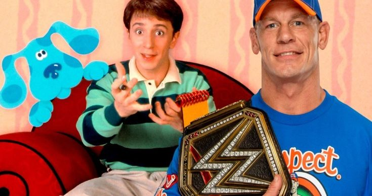 Blue's Clues Host Steve Challenges John Cena to WWE Fight -- There have been rumors that John Cena might star in a Blue's Clues remake and original host Steve Burns wants to fight about it. -- http://tvweb.com/blues-clues-wwe-wrestling-steve-challenges-john-cena/