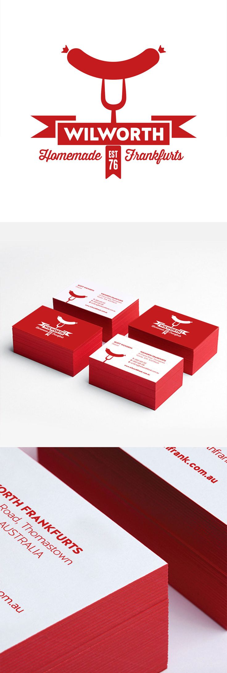 Logo and Stationery for Wilworth Frankfurts