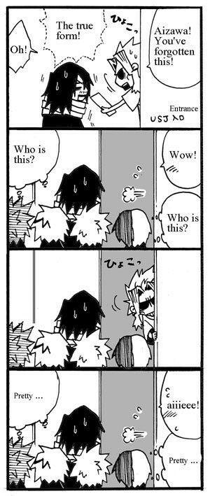 Boku No Hero Academia AizawaEraserhead Denki Kaminari