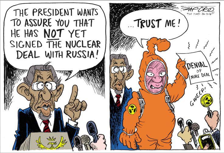 Zuma and Russian Nuclear Deal #Fishy
