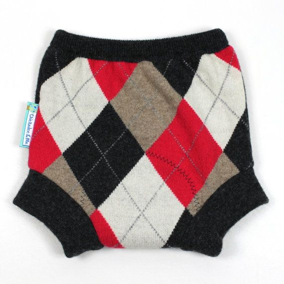WOOL SOAKER Wool Diaper Cover Preppy Pants by ...
