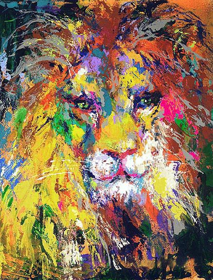 Another amazing artist. Leroy Neiman. My brother gave me a signed print of his work!