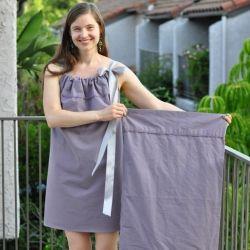 Make a cute dress or summer top from a pillowcase!