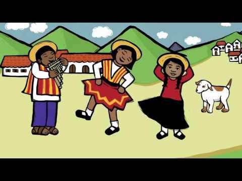 Culture of Peru - Music and Digital Book from Daria - Spanish Playground