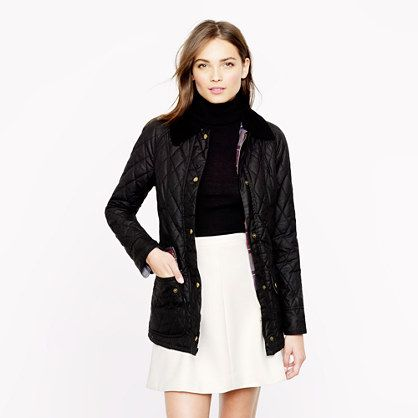 Barbour® quilted Beadnell jacket - Barbour - Women's j.crew in good company - J.Crew